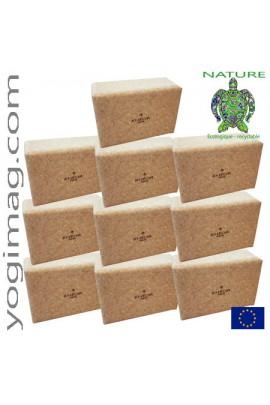 Lot briques de yoga en liège ECO Pro