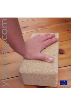 Brique Yoga en Liège ECO stable antidérapante solide pour tous yogas