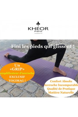 Tapis de yoga professionnel ultra solide en latex 183x60x4mm