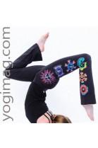 Pantalon de yoga chakras droit