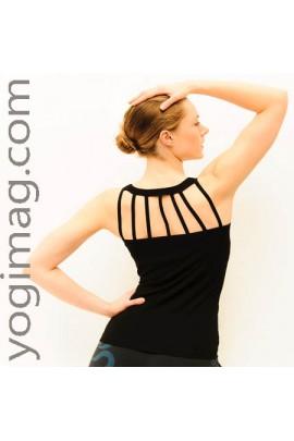 Top Yoga en Bambou : un haut sans couture pour yogini