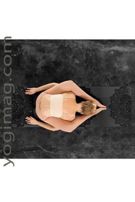 Tapis de yoga Design Lab 5mm noir