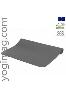 Tapis de yoga voyage gris