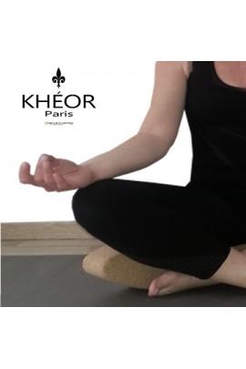 Brique de yoga liège Egg Ovale