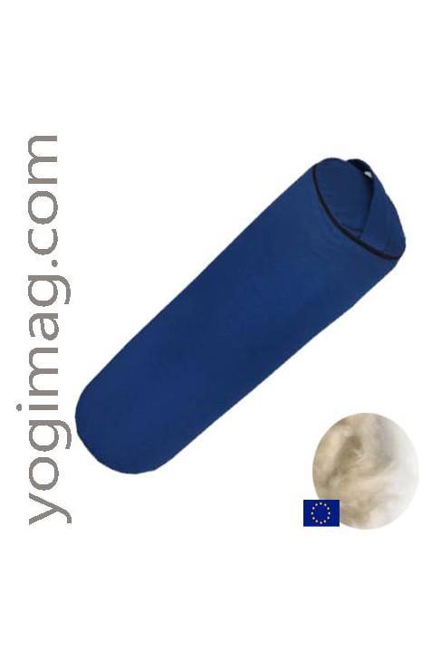 Bolster Yoga Naturel Kapok Cylindrique