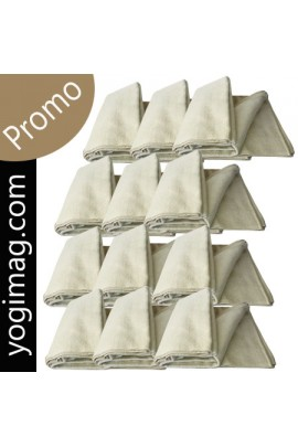 Couverture Yoga PRO 100% coton