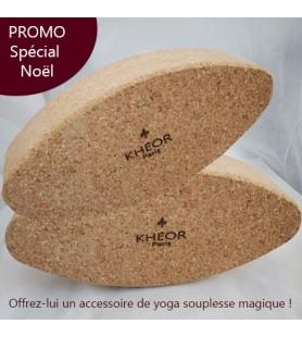 Noël - Brique de yoga en liège X2 promo spéciale !
