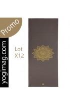 Promotion - Tapis de yoga antidérapant PRO cobra Fleur