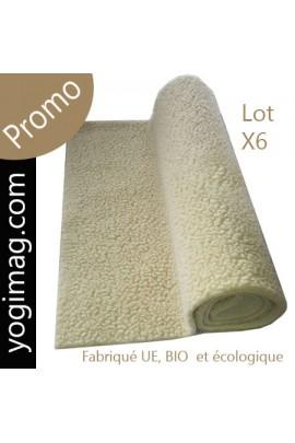 PROMO - Tapis de yoga doux en laine ECO PRO biologique