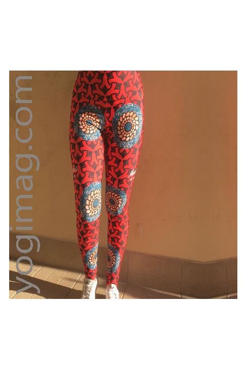 Legging de yoga afro - Invictus