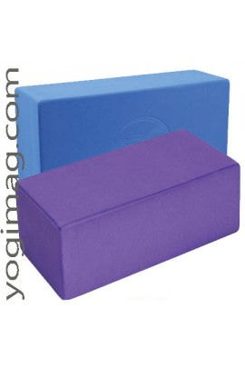 Brique de yoga qualité en mousse légère confortable et solide