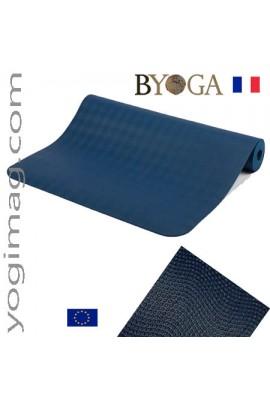Tapis de yoga de qualité en latex antidérapant Byoga France