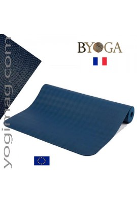 Tapis de yoga de qualité en latex antidérapant Byoga France