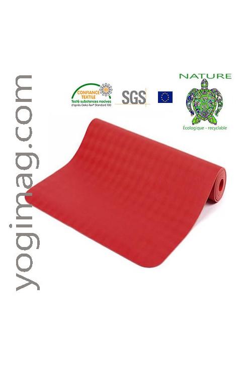 Tapis de Yoga Latex ECO Luxe 6mm Khéor Paris