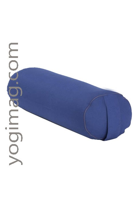 Bolster de Yoga 100% BIO rond de qualité 65 cm x 22 cm