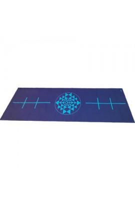 Tapis de Yoga avec ligne de positionnement - lot x10