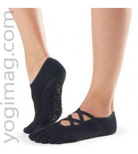 Chaussettes de yoga antidérapantes Toesox®