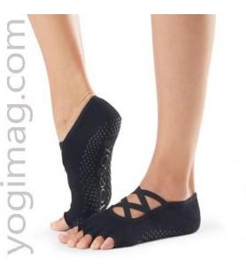 Chaussettes pour la pratique du yoga - mitaines de pied