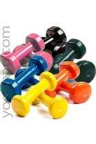 Haltères de musculation 0,5 à 5 kg