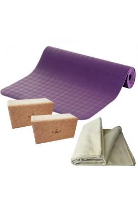Kit yoga écologique et recyclable