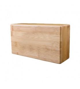 brique de yoga en bois naturel de bambou écologique dure