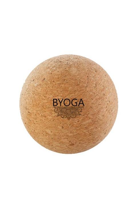 Balle de massage Byoga - article de bien-être en liège