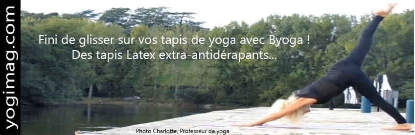 Tapis de Yoga Latex écologique Byoga
