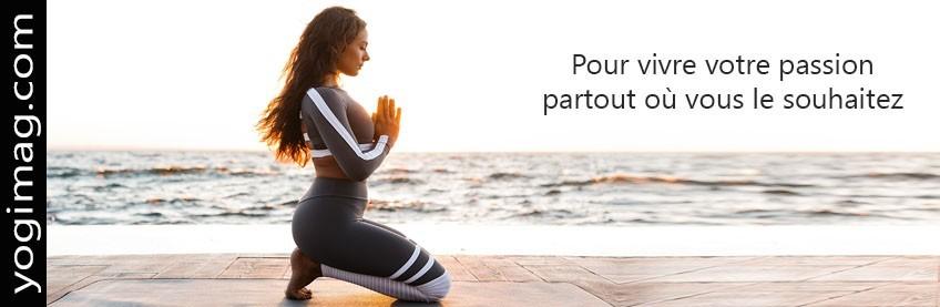Tapis de Yoga de Voyage Fin