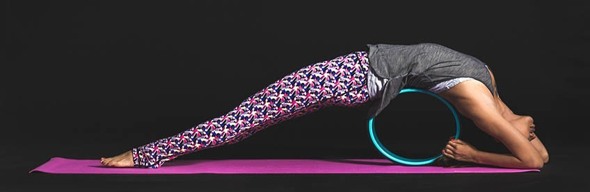 Yoga wheel - roue yoga fitness  b4d23ee35ad