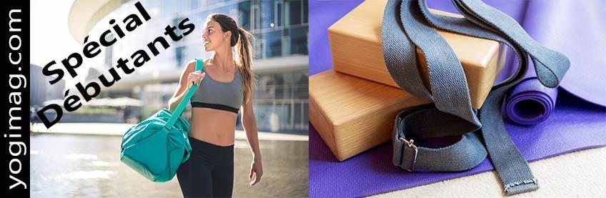 Accessoires de yoga pour débutants