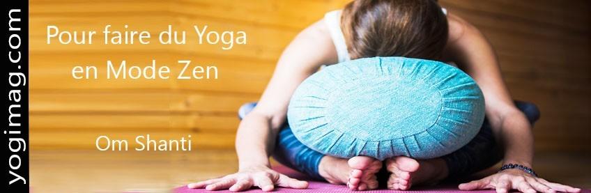 Coussins de Yoga