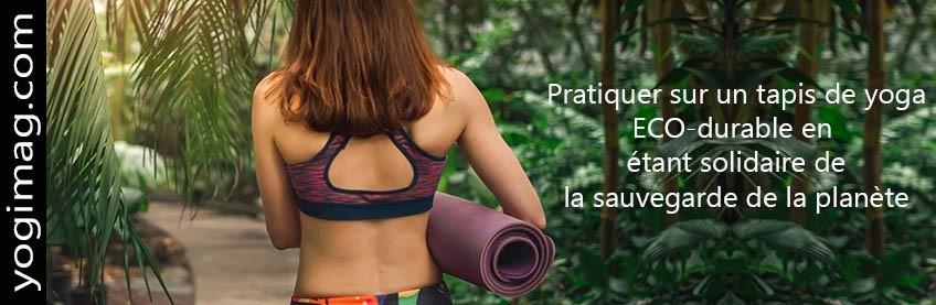 Tapis de yoga écologiques