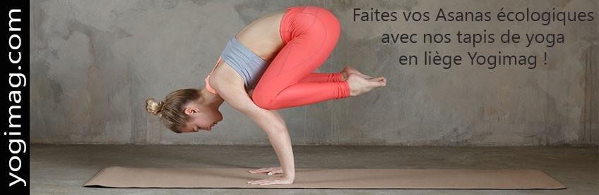Tapis de yoga en liège ECO-durable
