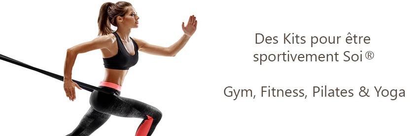 Kit de Sport Gym Fitness Pilates & Yoga