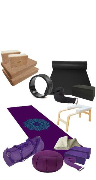 Accessoires de yoga et kits yoga