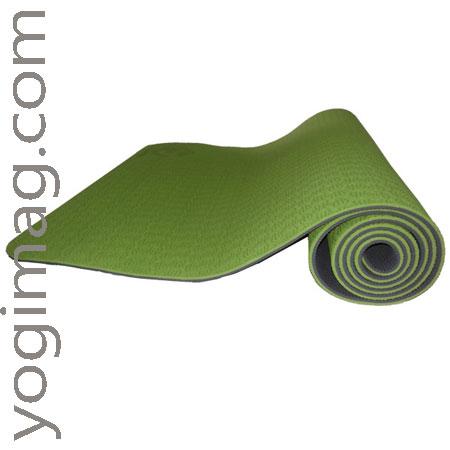 tapis de yoga vert - yogimag
