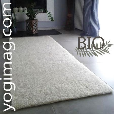 tapis de yoga en laine - yogimag