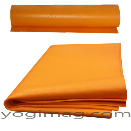 tapis de yoga cobra fin léger 3mm