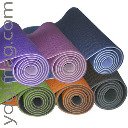 tapis de yoga léger sérénité - yogimag