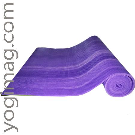 tapis de yoga violet - yogimag