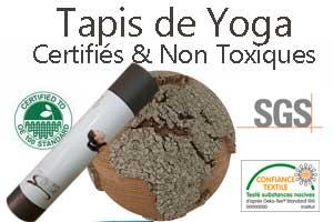 Tapis de Yoga certifié non toxique Yogimag