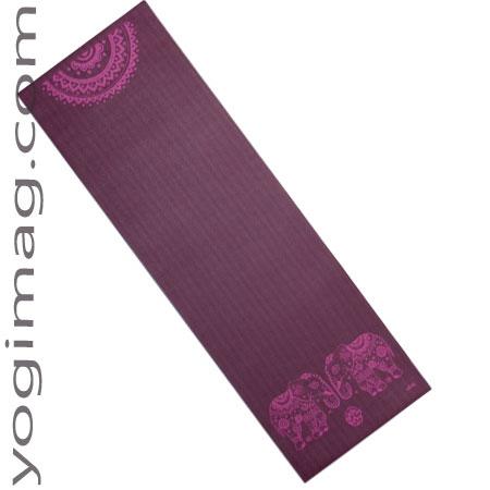tapis de yoga 183x60x4mm - yogimag