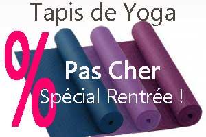 Tapis de Yoga pas cher Yogimag