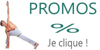 Promotions matériel de yoga sur la boutique yoga yogimag