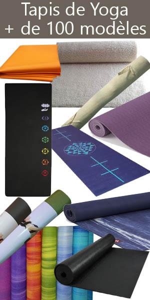 Découvrez notre gamme de tapis de yoga sur notre boutique Yogimag