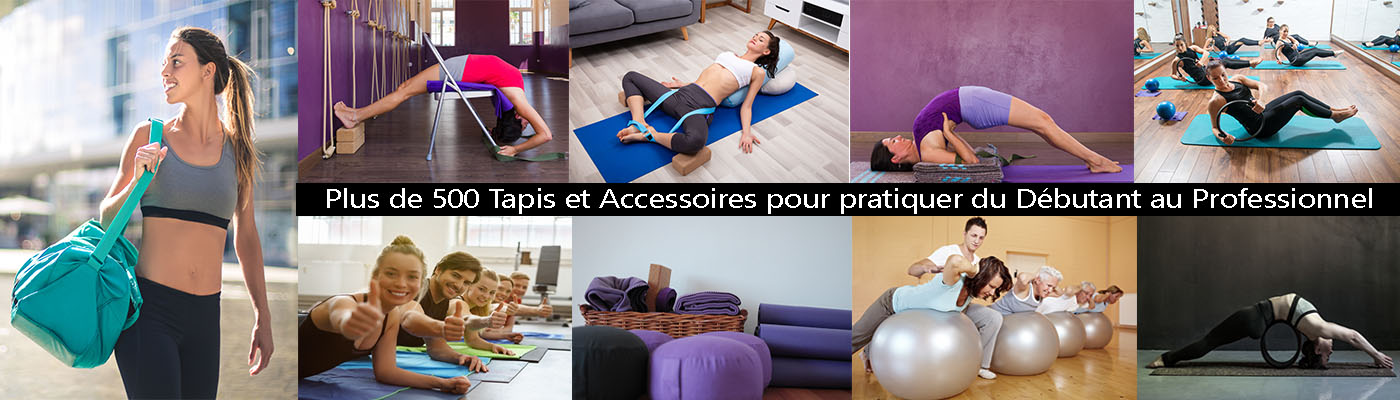 Yogimag vous fait découvrir sa gamme de tapis de yoga et accessoires yoga pour pratiquer. Meilleure boutique yoga